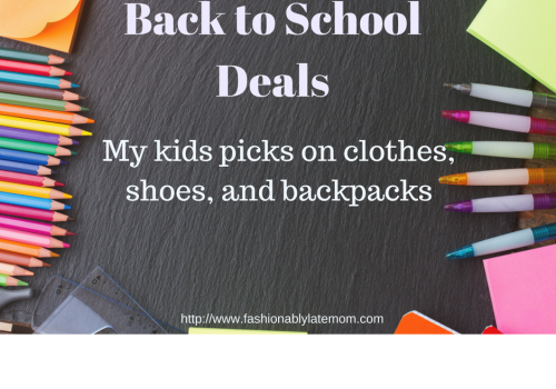 Kids Picks for Back to School