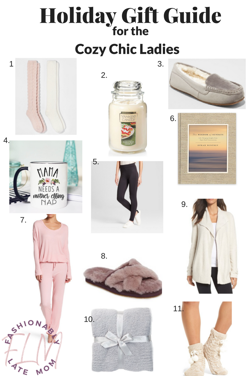 Holiday Gift Guide: For The Cozy Chic Ladies