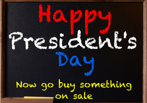 Thank You Mr. President's - It's Sale Day!